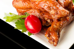 Braised duck wings Stock Photography