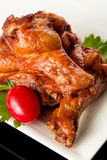 Braised duck wings Royalty Free Stock Photo