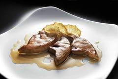 Braised Italian Tuna Steaks Royalty Free Stock Photo