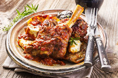 Braised Lamb Knuckle Royalty Free Stock Photo