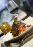 Braised Lamb Shank Stock Image
