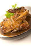 Braised Lamb Shanks Royalty Free Stock Photography