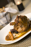 Braised Leg Of Lamb Royalty Free Stock Photography