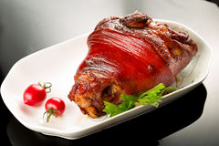 Braised pig elbow Royalty Free Stock Image