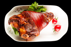 Braised pig elbow Royalty Free Stock Photography