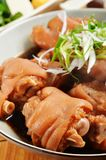 Braised pig knuckles Stock Photo