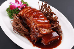Braised pork Royalty Free Stock Photos