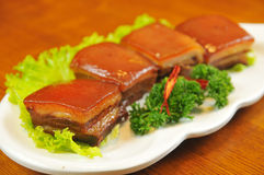 Braised Pork Stock Photo