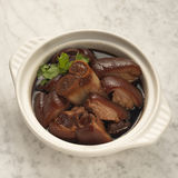 Braised pork belly Royalty Free Stock Image