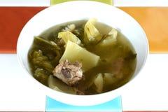 Braised pork blone Pickled Stock Image