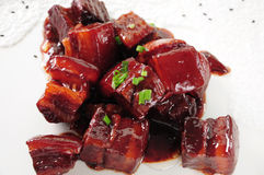 Braised Pork Stock Image