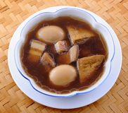 Braised Pork With Egg And Tofu Stock Images