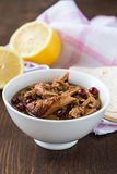 Braised pork,  tender and falling apart Royalty Free Stock Photo