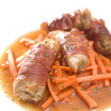 Braised Rabbit Parcels Royalty Free Stock Photo