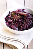 Braised red cabbage Royalty Free Stock Images
