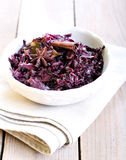 Braised red cabbage Royalty Free Stock Photos