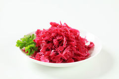 Braised red cabbage Royalty Free Stock Photo
