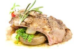 Braised ribs calf Royalty Free Stock Image