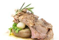 Braised ribs calf Stock Photo