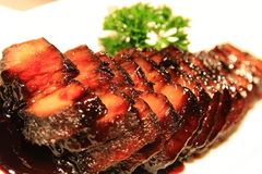 Braised soy sauce pork Royalty Free Stock Images