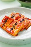 Braised Tofu with Spicy Sauce dubu jorim. Korean Dish, Korean Food Stock Images