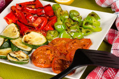 Braised vegetables, Spanish cuisine Royalty Free Stock Image