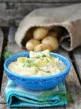 Braised zucchini Stock Photo