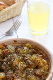 Braising meat with Italian herbs Stock Images