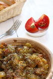 Braising meat with Italian herbs Royalty Free Stock Images