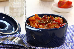 Braising vegetables Royalty Free Stock Photography