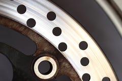 Brake. Background in motorbike, motorcycle Royalty Free Stock Photography