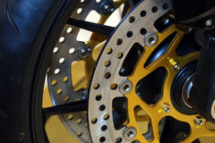 Brake background Stock Photo