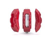 Brake caliper and brake disc Royalty Free Stock Photography