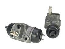 Brake cylinder. Isolated on white background Stock Images