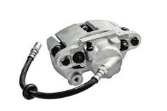 Brake cylinder of the car on a white background stock photography
