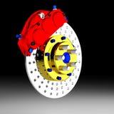 Brake 3D. Royalty Free Stock Image