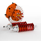Brake 3D. Stock Photo