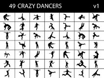 Brake dancers in group Stock Photography