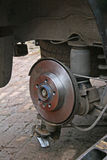 Brake disc Royalty Free Stock Photography