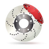 Brake disc Royalty Free Stock Photos