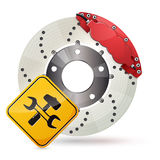 Brake disc Stock Images