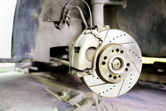 Brake disc. Image of a Brake disc Royalty Free Stock Photography