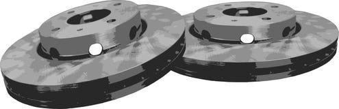 Brake disc Stock Image
