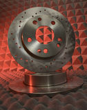 Brake discs Royalty Free Stock Image
