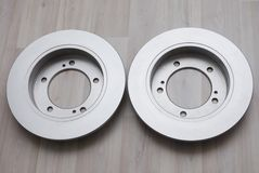 Brake discs Royalty Free Stock Photography