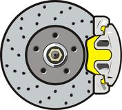 Brake disk Stock Photography