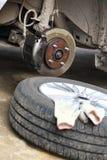 Brake disk Royalty Free Stock Images