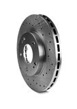Brake disk. For the sports car Royalty Free Stock Photo