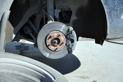 Brake disk Royalty Free Stock Images