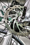 Brake disk bicycle Stock Image